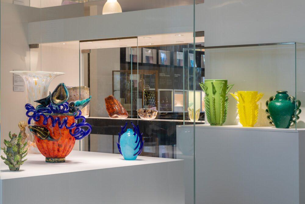 2_Venezia e lo Studio Glass Americano, Installation view. Ph. Enrico Fiorese