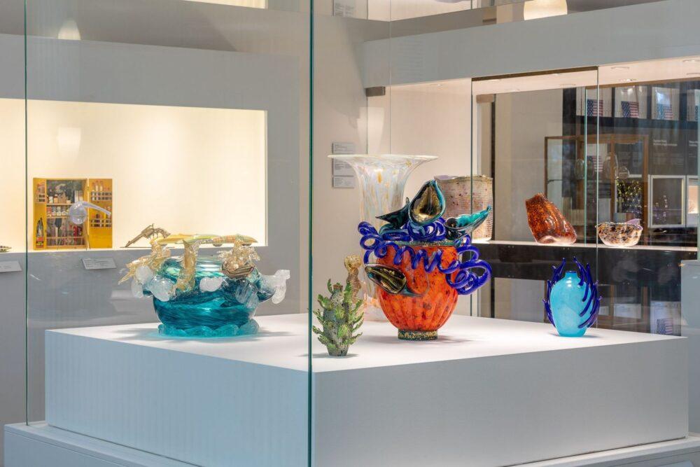 4_Venezia e lo Studio Glass Americano, Installation view. Ph. Enrico Fiorese