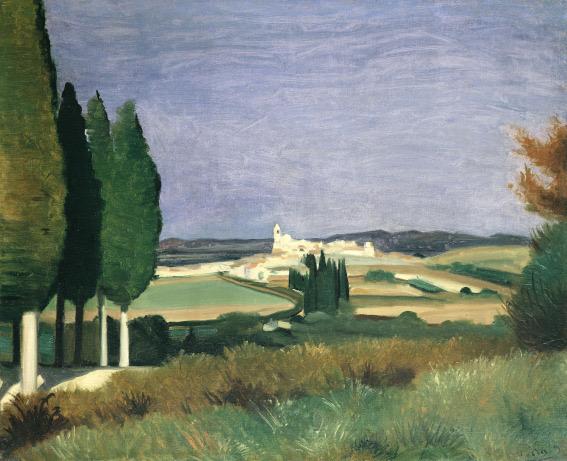 Andre Derain Mendrisio 2020 Paysage de Provence, 1930