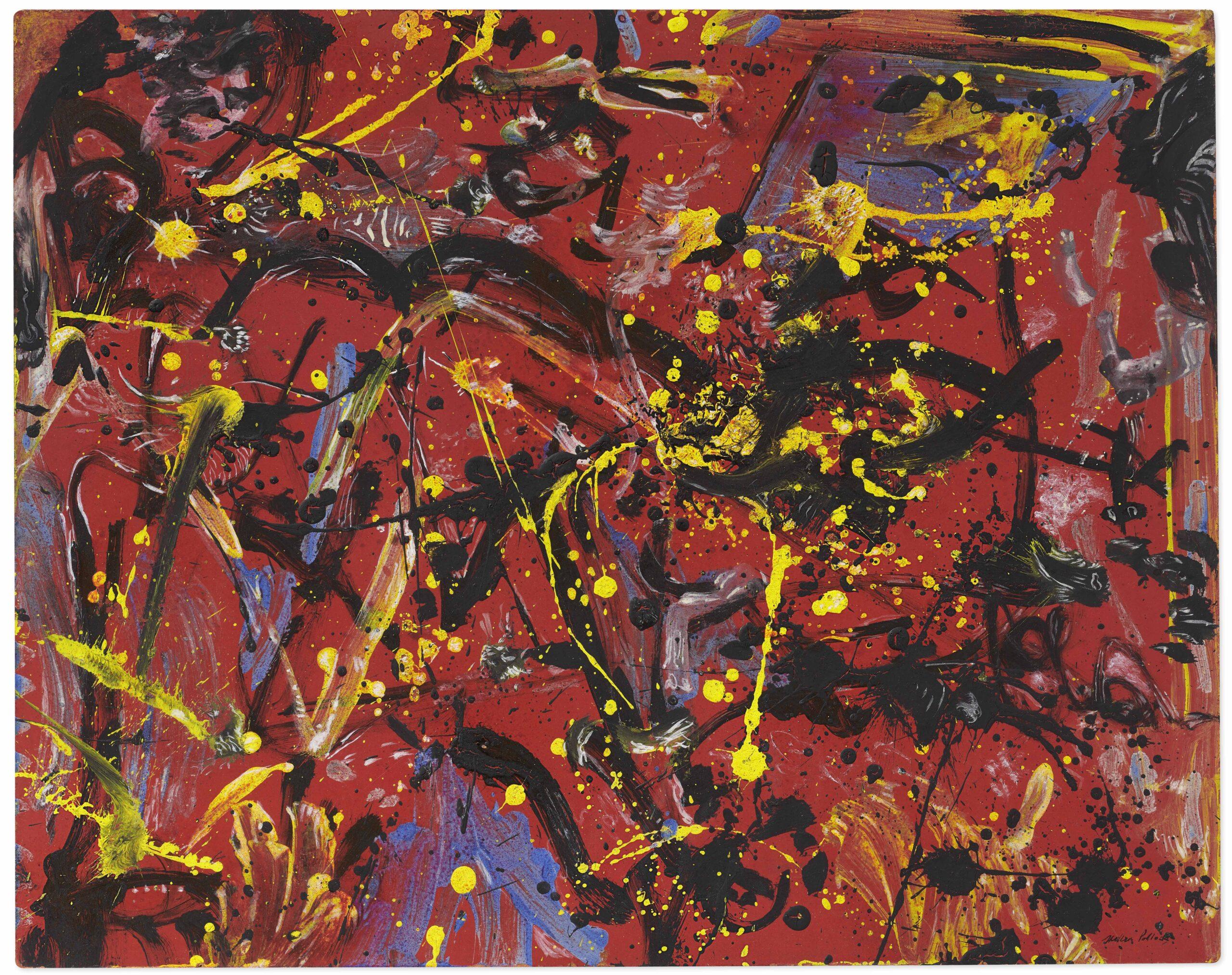 Quando la pittura si liberò dal pennello. Un'opera giovanile di Jackson Pollock in asta da Christie's