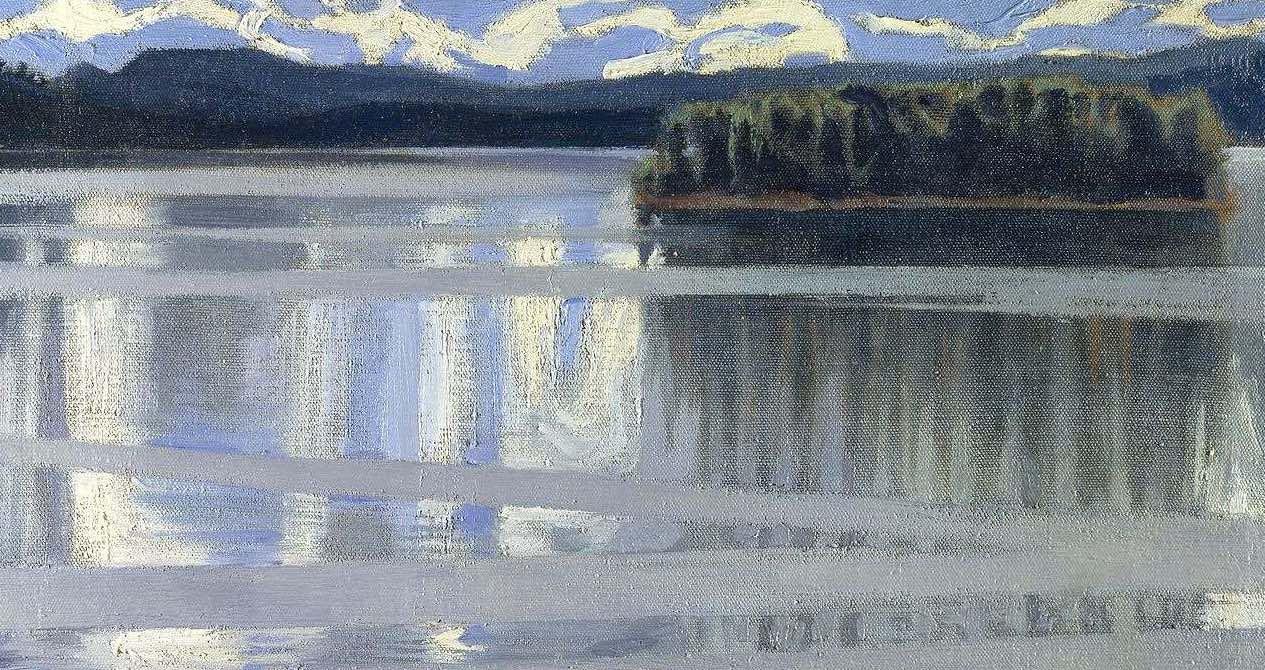 Cinque minuti di meditazione su un lago finlandese dipinto da Akseli Gallen-Kallela