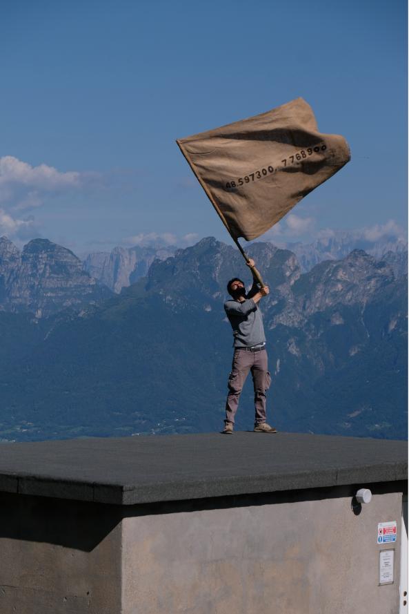 Andrea Francolino, Alpe del Nevegàl, 2020
