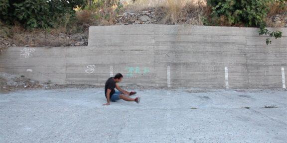 Andrea Luporini, VathiSporting Club, still video, courtesy Fourteen ArTellaro