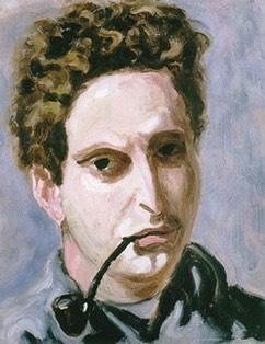 Autoritratto con la pipa, 1940.