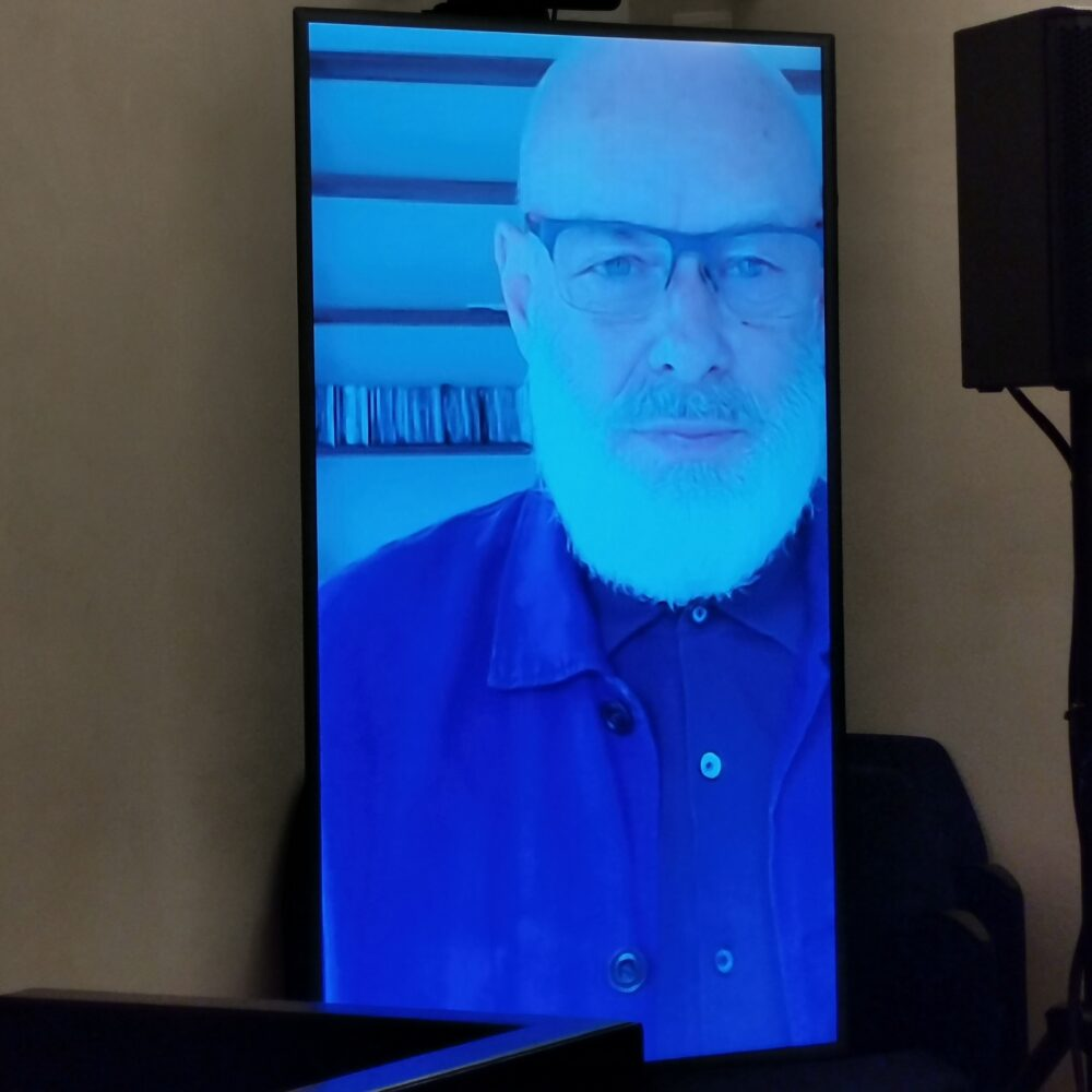Brian Eno - in collegamento Zoom
