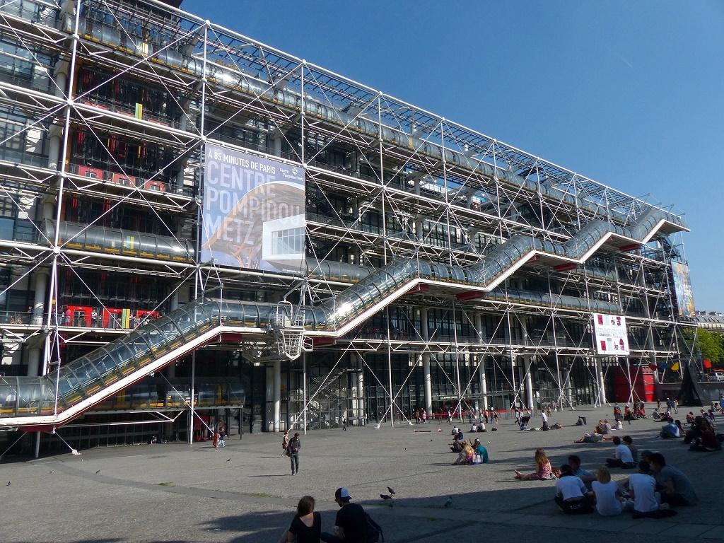 Il Centre Pompidou di Parigi potrebbe chiudere per tre anni