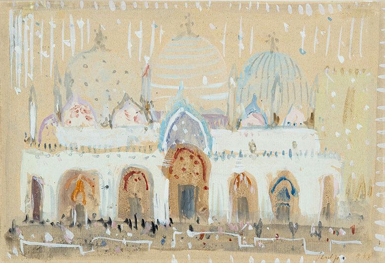 Zoran Music, Chiesa di San Marco, 1948 © 2020, ProLitteris, Zurich