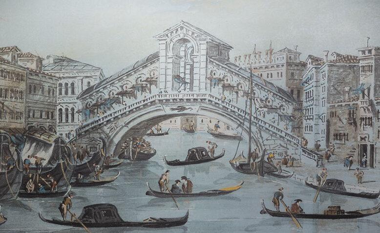Angeli a Venezia. Le gouaches di Giacomo Guardi e gli acquerelli di Music in dialogo a Lugano