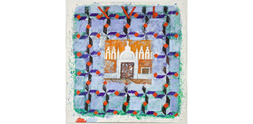 Joe Tilson, The stones of Venice, Deposito del pane, 2015