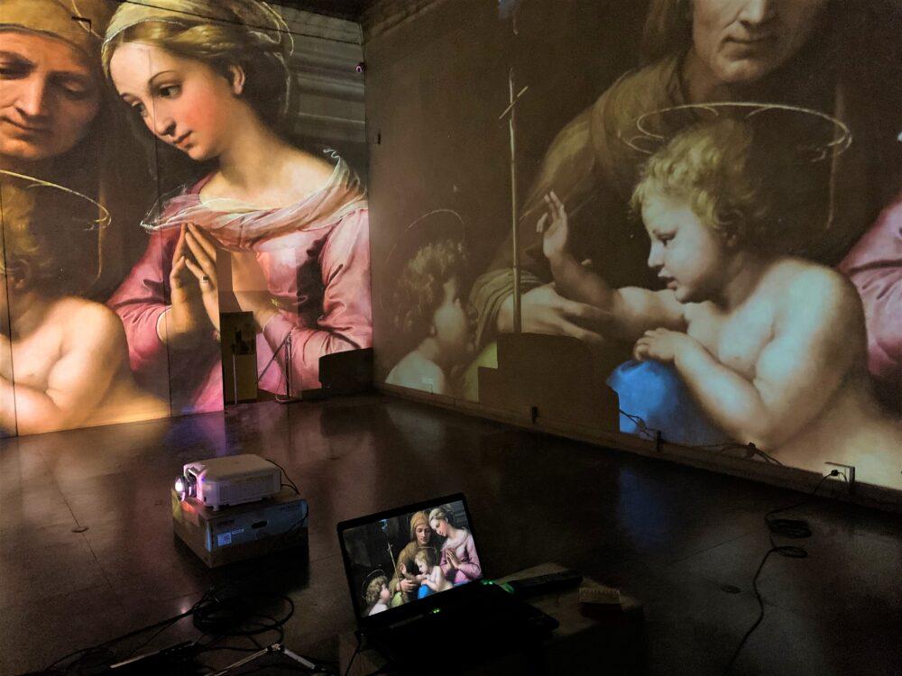 mostra multimediale dedicata a Raffaello