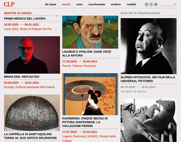 CLP cambia veste: un nuovo sito per gli esperti della comunicazione d'arte