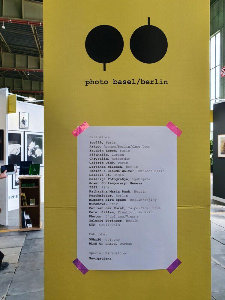 POSITIONS 2020 - PHOTO BASEL BERLIN