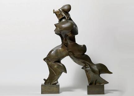 Boccioni: 229 mila euro come risarcimento per la scultura danneggiata in Belgio