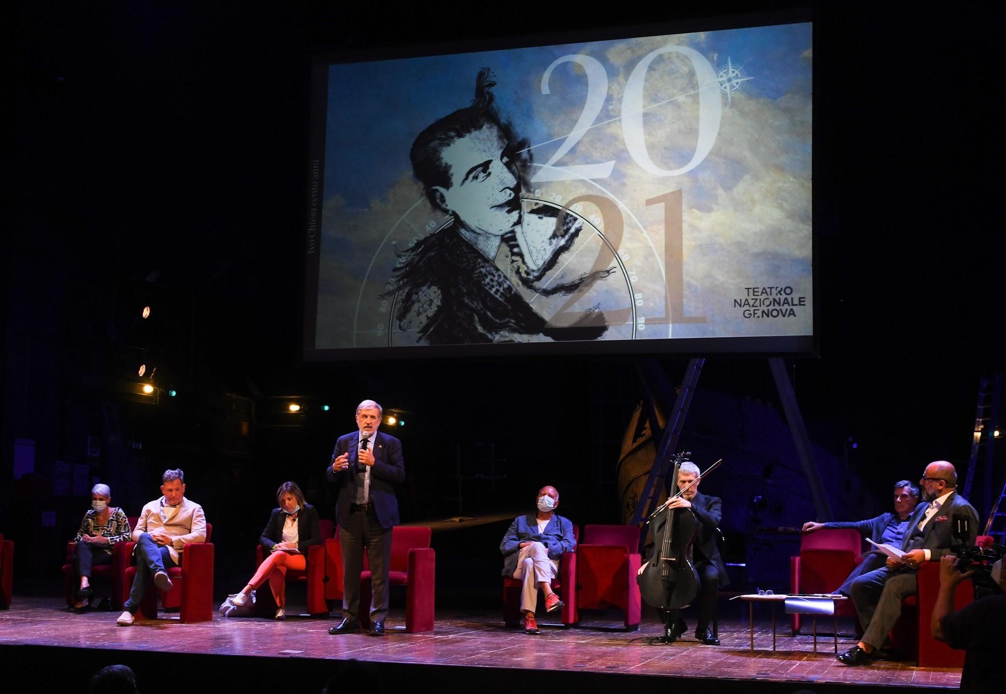 Il Teatro Nazionale di Genova presenta la sua nuova stagione in forma di show