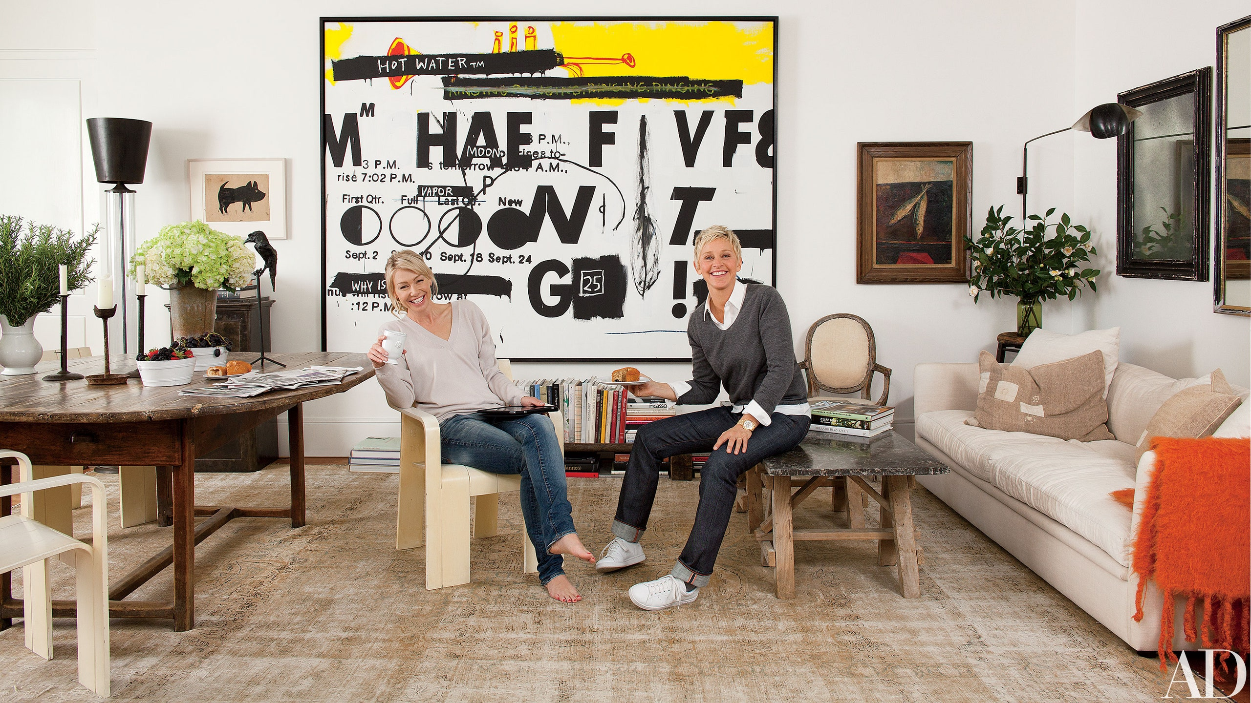 Ellen DeGeneres vende opere d'arte per milioni di dollari