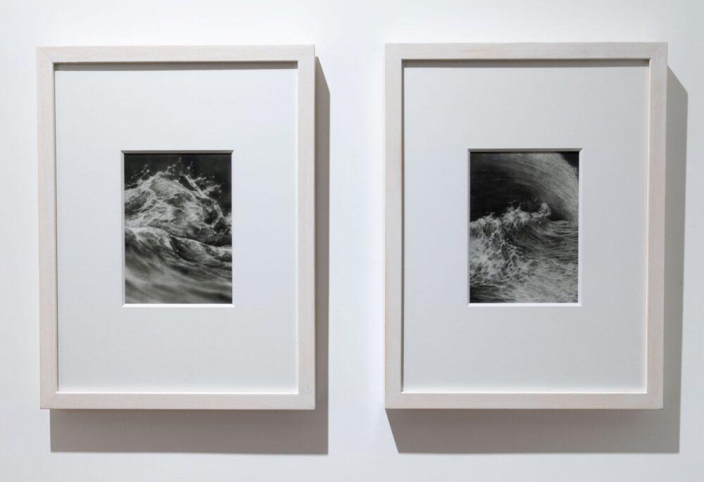 Riflessi di mare 2020 grafite su carta 140 x 200 cm dettaglio 2020 graphite on paper 140 x 200 cm 55,11 x 78,74 in detail Courtesy: the artist and GALLERIA CONTINUA Photo by: Giovanni De Angelis