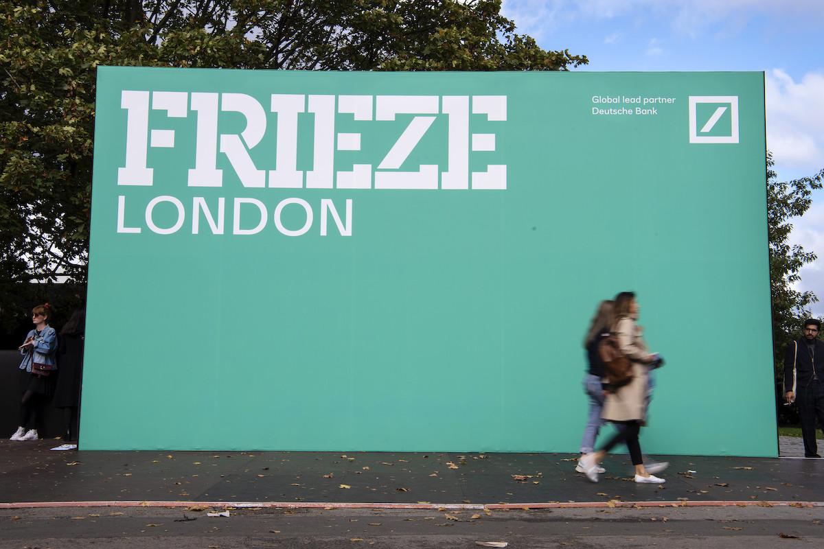 Frieze London e Frieze Masters: gli espositori dell'edizione ibrida di ottobre 2020