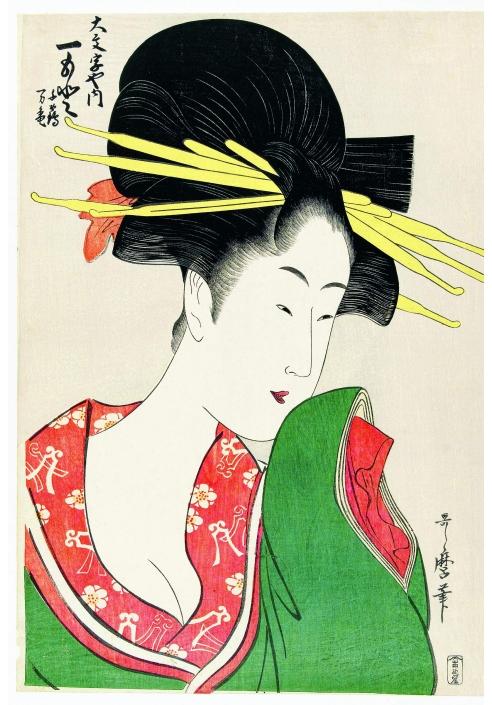 La figura della geisha nelle stampe dei grandi maestri giapponesi