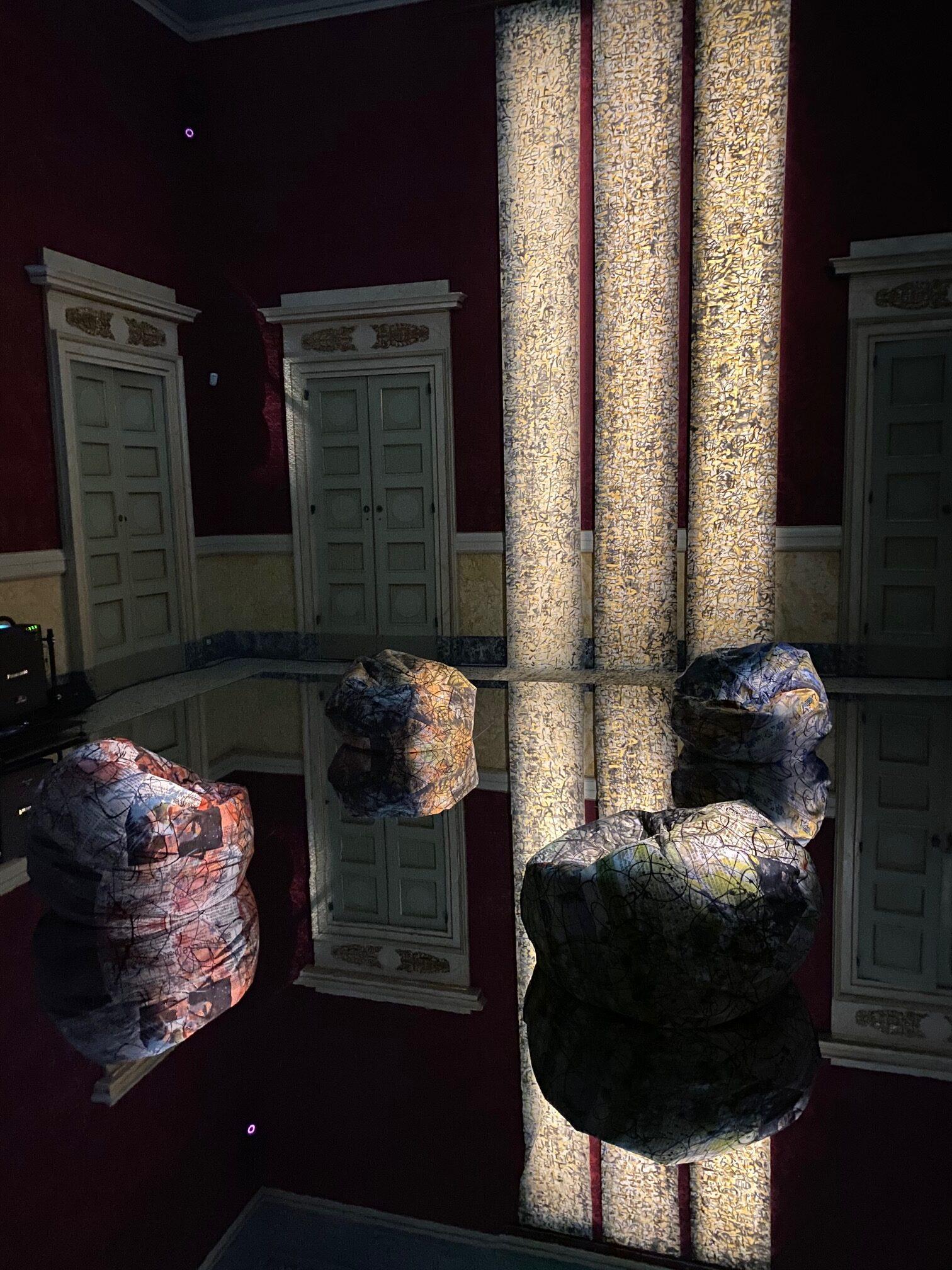 Out of the Blue, Viaggio nella Calligrafia attraverso Alcantara