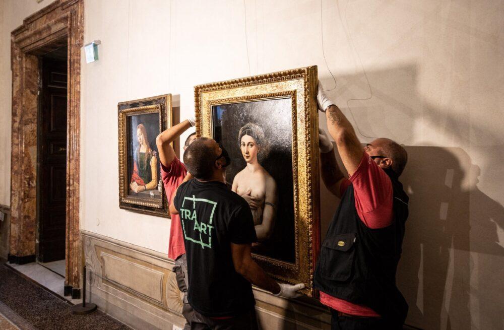 La Fornarina torna a Palazzo Barberini