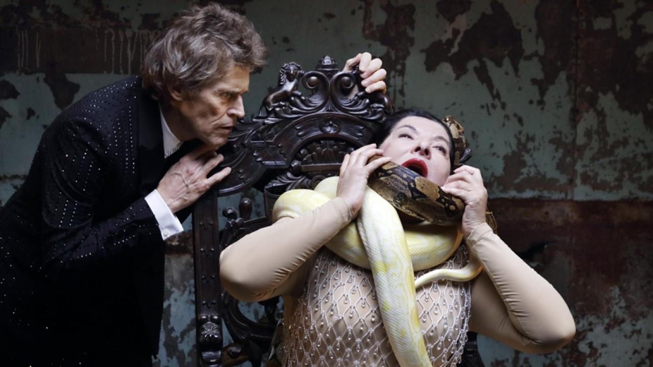 Le sette morti di Maria Callas interpretate da Marina Abramovic: lo spettacolo a Monaco