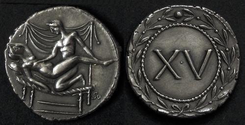 Le spintriae, il soldo di una prostituta nell'antica Roma: ecco come si poteva godere delle loro prestazioni