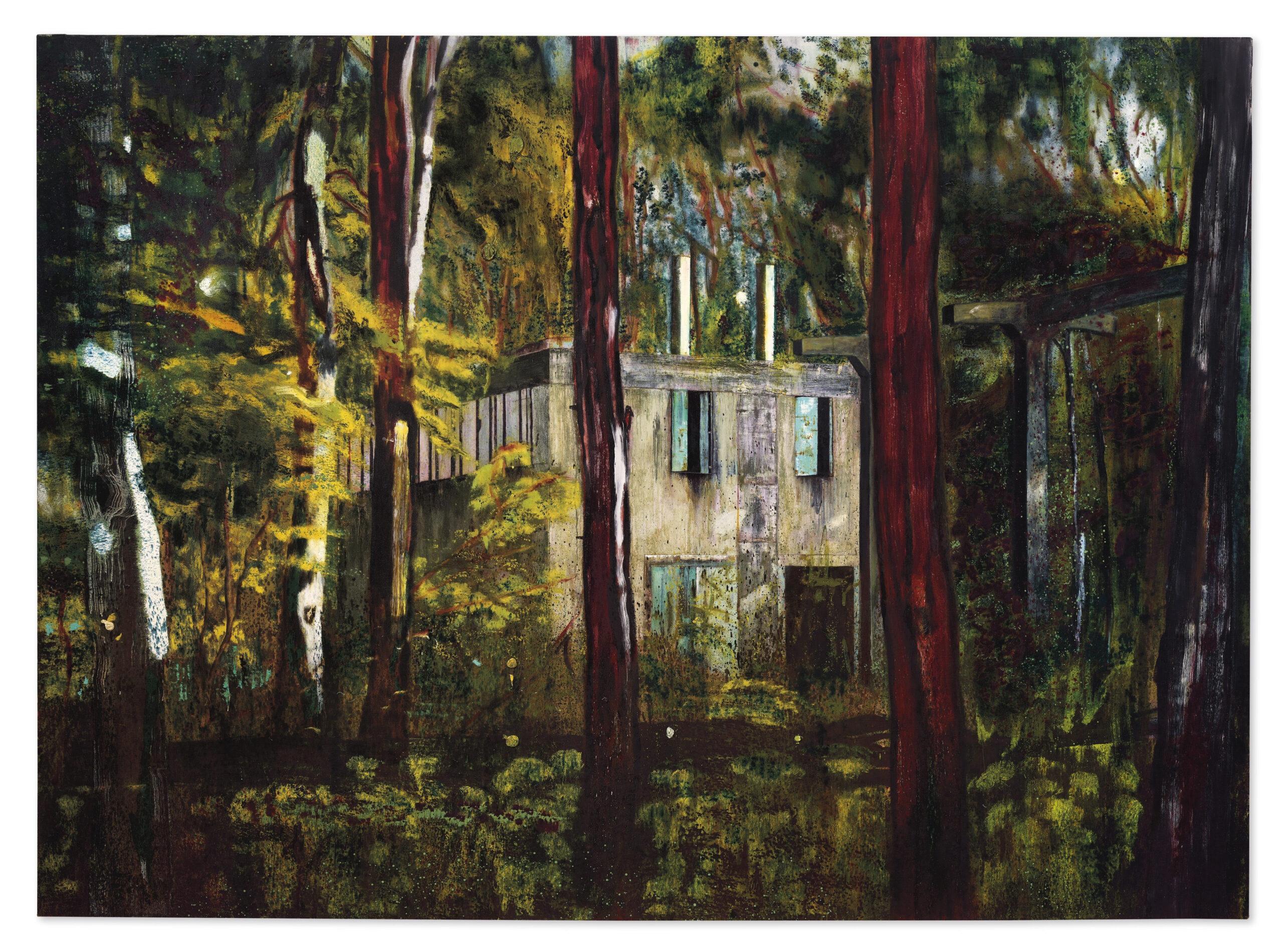 La maestosa Boiler House di Peter Doig stima 13 milioni da Christie's a Londra