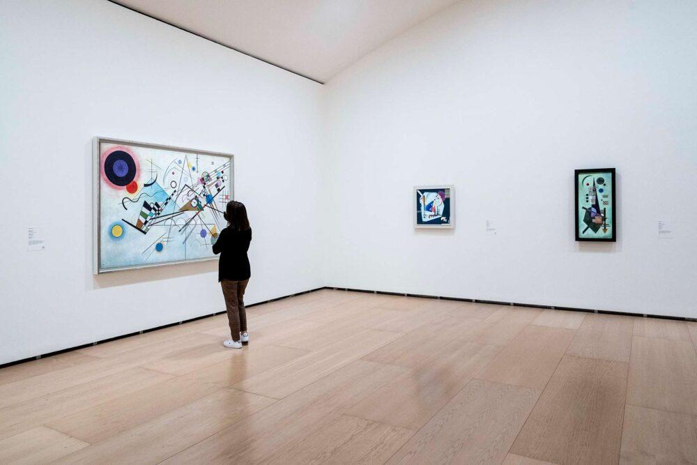 Kandinsky al Museo Guggenheim di Bilbao (© Musée Guggenheim Bilbao)