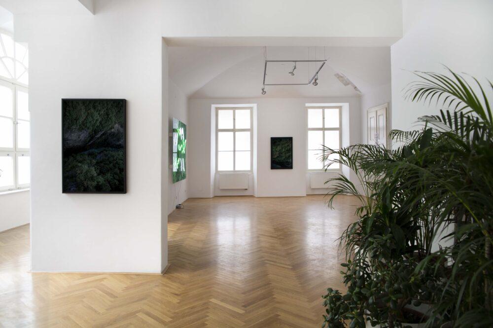 Not at firt glance, Centro Internazionale di arti grafiche, Lubiana, veduta dell'Installazione