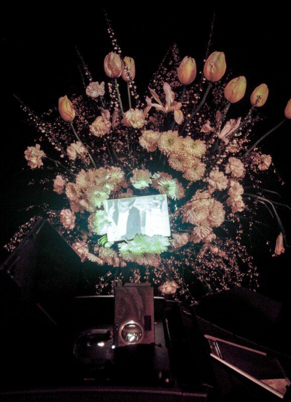 Come as you are/Jacket and necktie, 1981 Film super8 loop, proiezione da cogliere nel vuoto dello spazio espositivo, Archivio Gianni Melotti