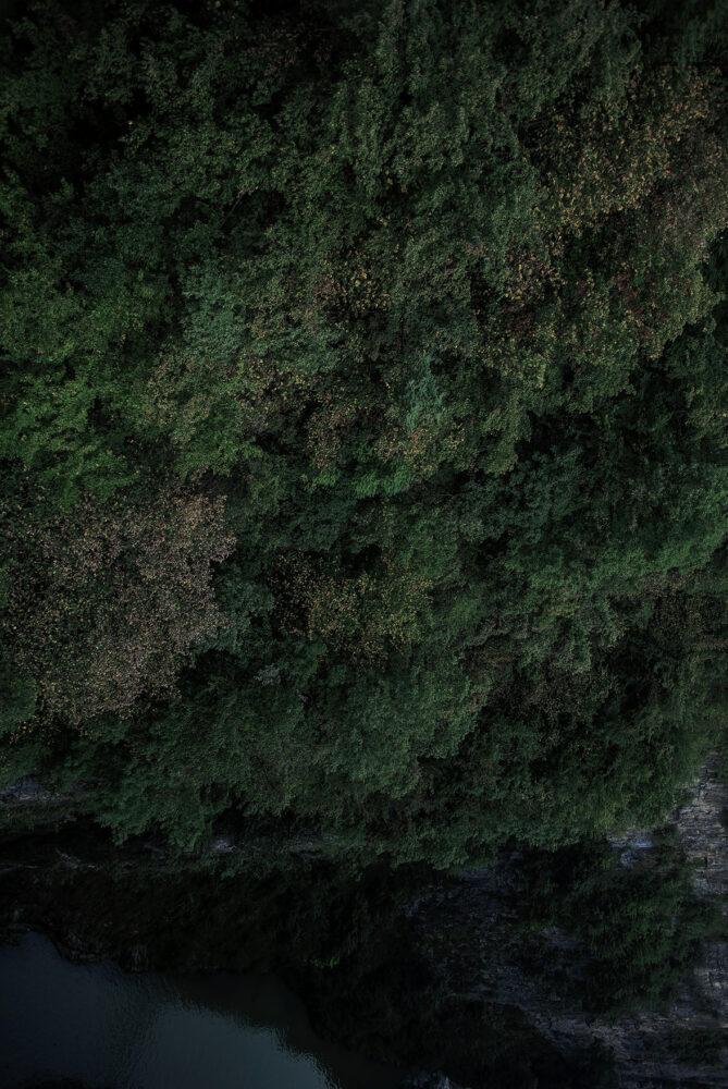 Aria buia (Santa Giustina) #2,2020. IStampa inkget su carta cotone, dibond, 100 x 66 cm
