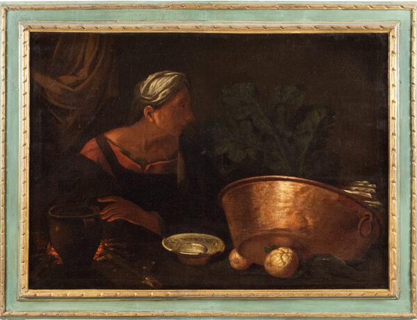 Lotto 2: Pietro Paolini e Simone Del Tintore, attribuito. Stima 3.000,00 / 4.000,00 euro