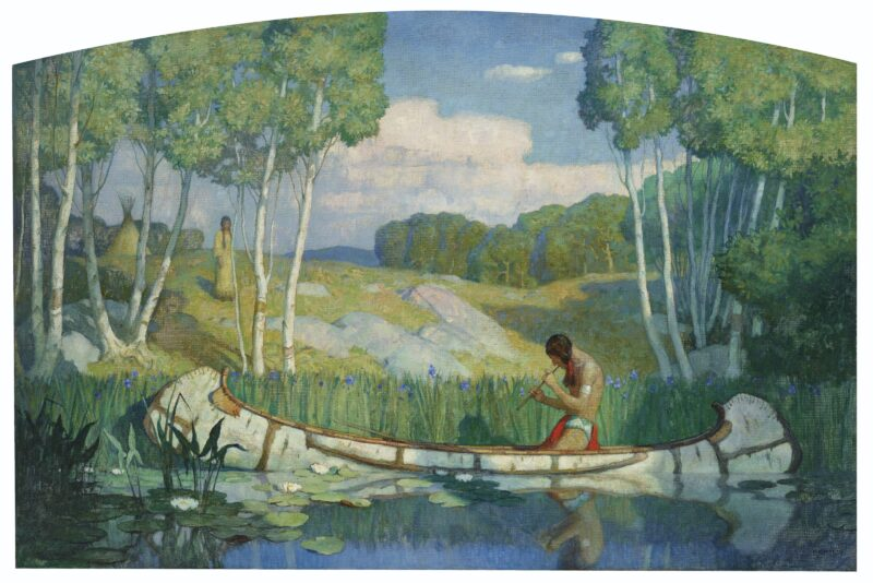 NEWELL CONVERS WYETH , Indian Love Call