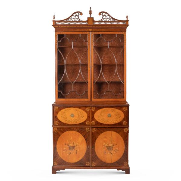 Lotto 296: Mobile Bookcase Giorgio III. Stima 2.000,00 / 3.000,00 euro