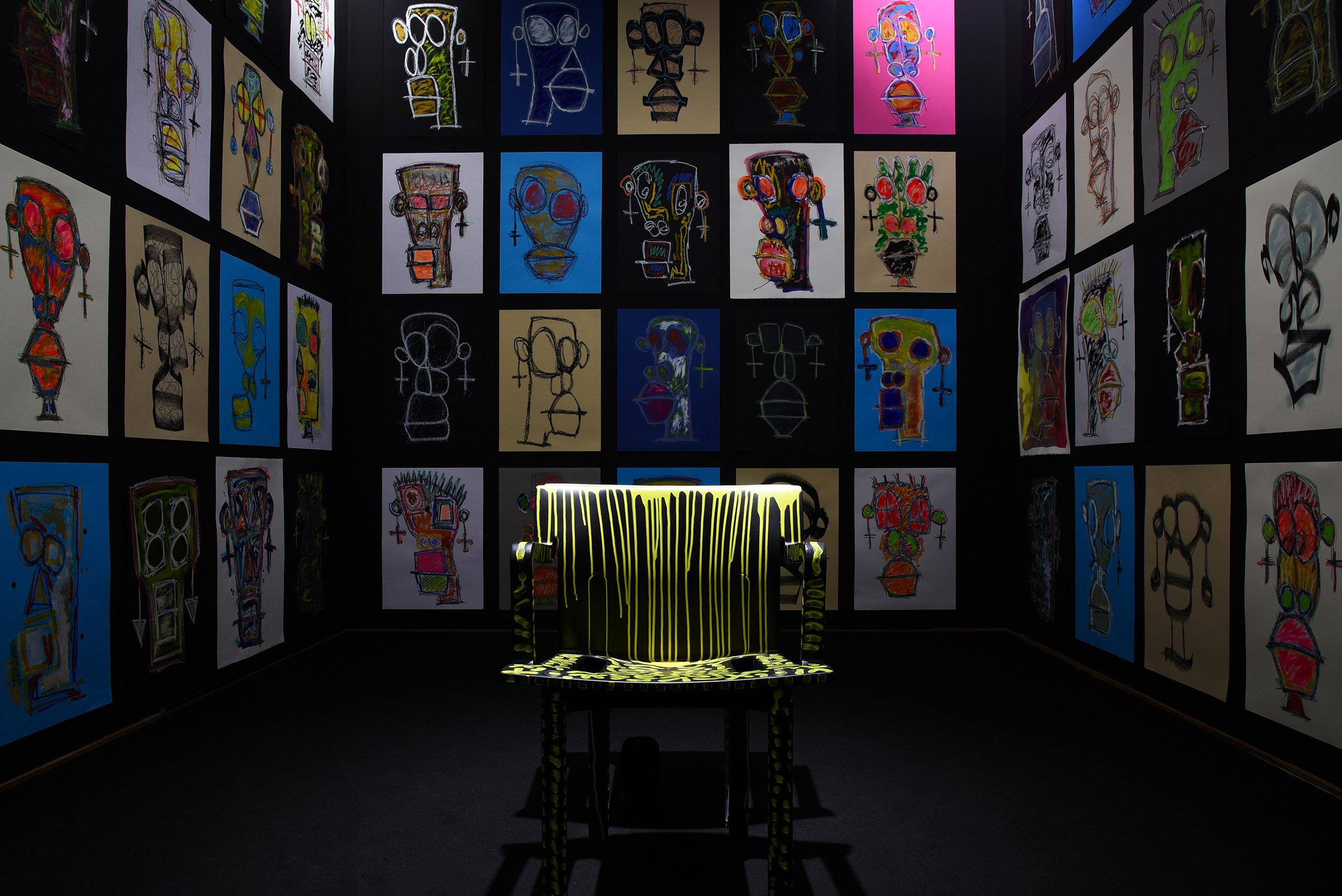 Il mondo in una stanza. Storie pittoriche da quarantena, in mostra a Melano