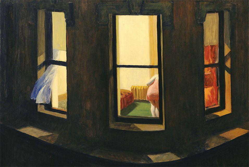 La finestra nel mondo dell'arte, dal Rinascimento a Hitchcock