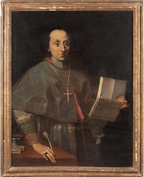 Lotto 6: Giovanni Battista, Ritratto di Monsignor Gherardo Zandemaria. Stima 2.000,00 / 3.000,00 euro