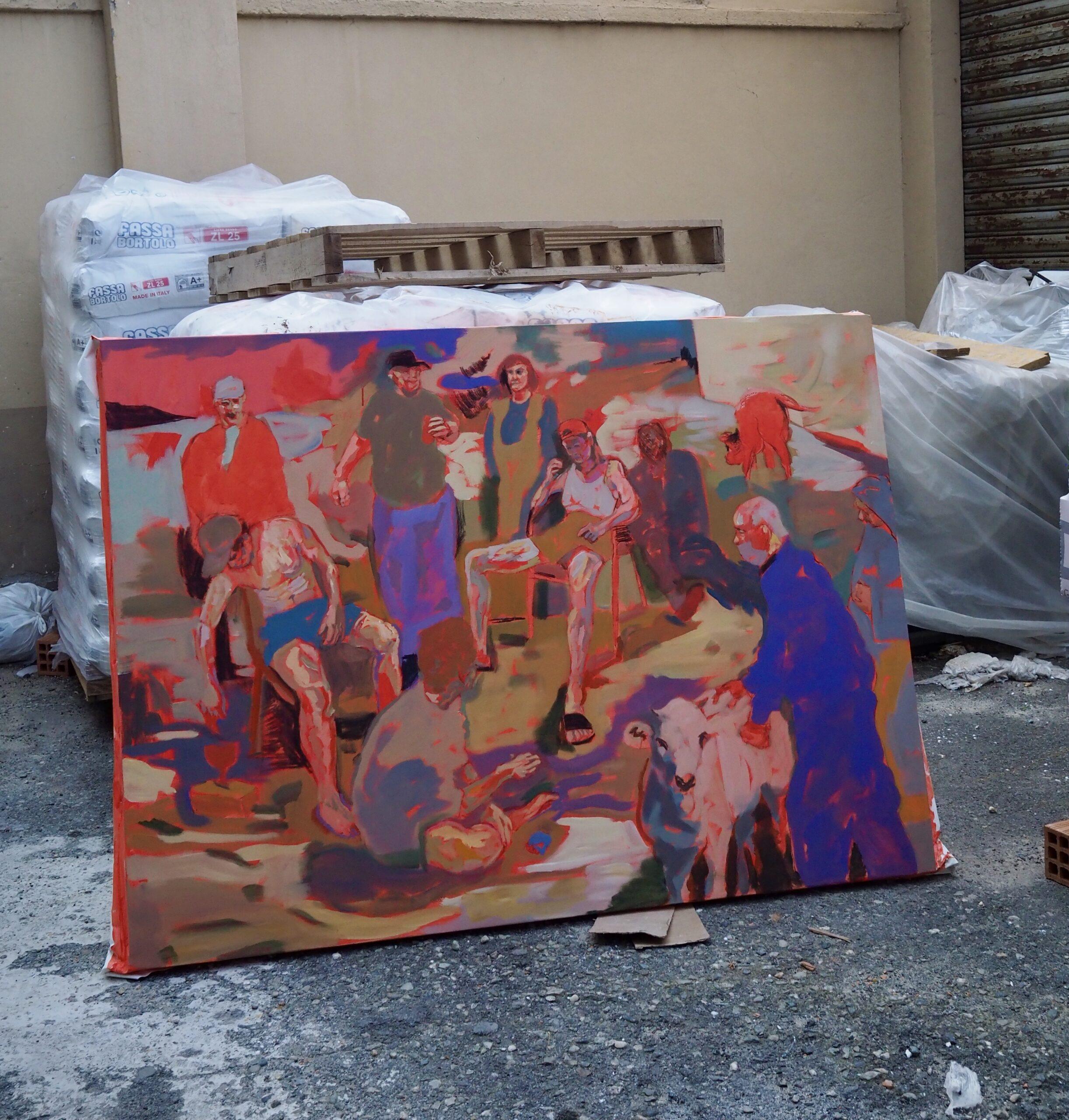 In dialogo con Davide Robaldo: la pittura fra tradizione e attualità