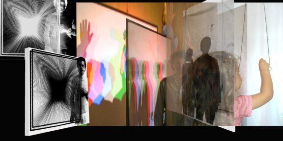 Alberto Biasi, Io sono, tu sei, egli è...(1972) mostra Alberto Biasi e Julio Le Parc. L'arte dell'instabilità (2005), Casa del Mantegna, Mantova