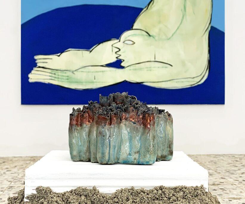 Anastasia Bay and Habima Fuchs, Contemporary Archaeology, 2020, exhibition view, G/ART/EN , Como, Italy - Courtesy of the artists and G/ART/EN