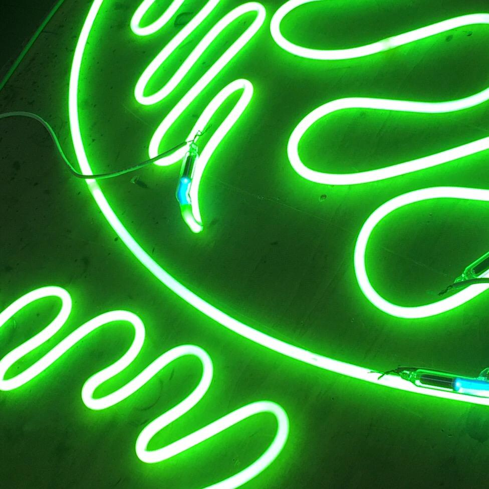 """Andrea Polichetti, """"Untitled"""", neon, dimensioni variabili, 2020"""