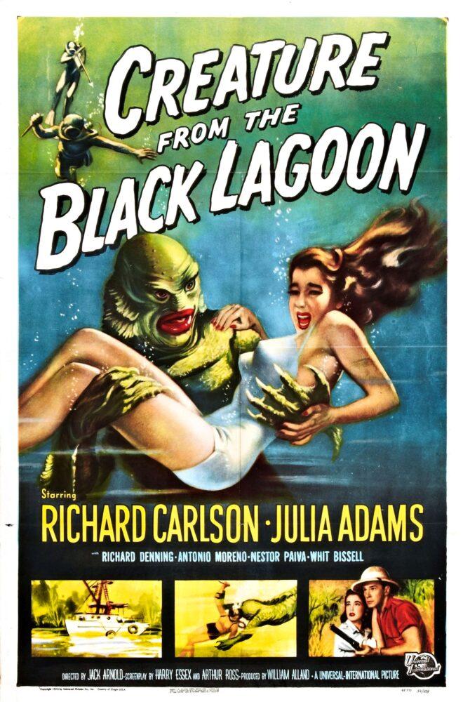 Arnold - Il mostro della laguna nera, 1954