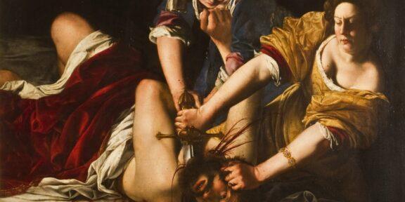 Artemisia Gentileschi, Giuditta che decapita Oloferne, 1614 - 1620 Gallerie degli Uffizi, Firenze