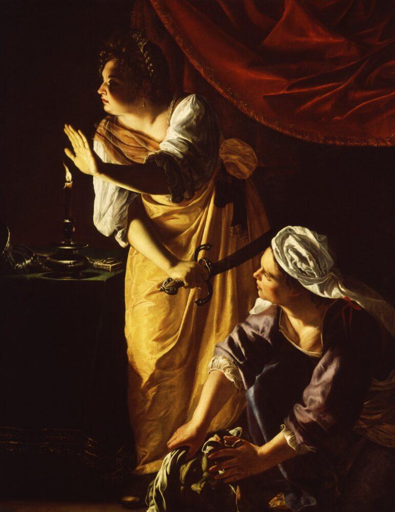 Artemisia Gentileschi, Giuditta e la sua ancella, 1625-27Istituto delle Arti, Detroit