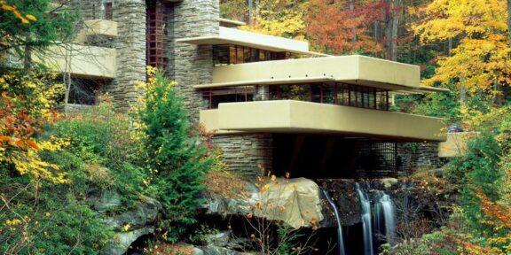 Casa sulla cascata di Francis Lloyd Wright (1939)