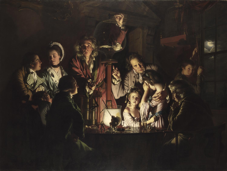 Tra arte e scienza: l'Esperimento di Joseph Wright of Derby arriva a Firenze