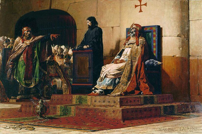 Jean-Paul Laurens, Concilio cadaverico, 1870, Nantes, Musée des Beaux-Arts
