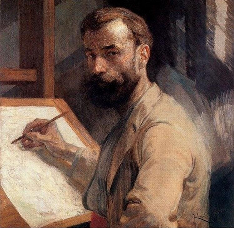 Kupka, Autoritratto (1905)