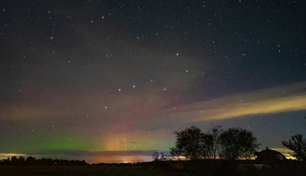 L'aurora boreale vista in questi giorni nel Nord Europa