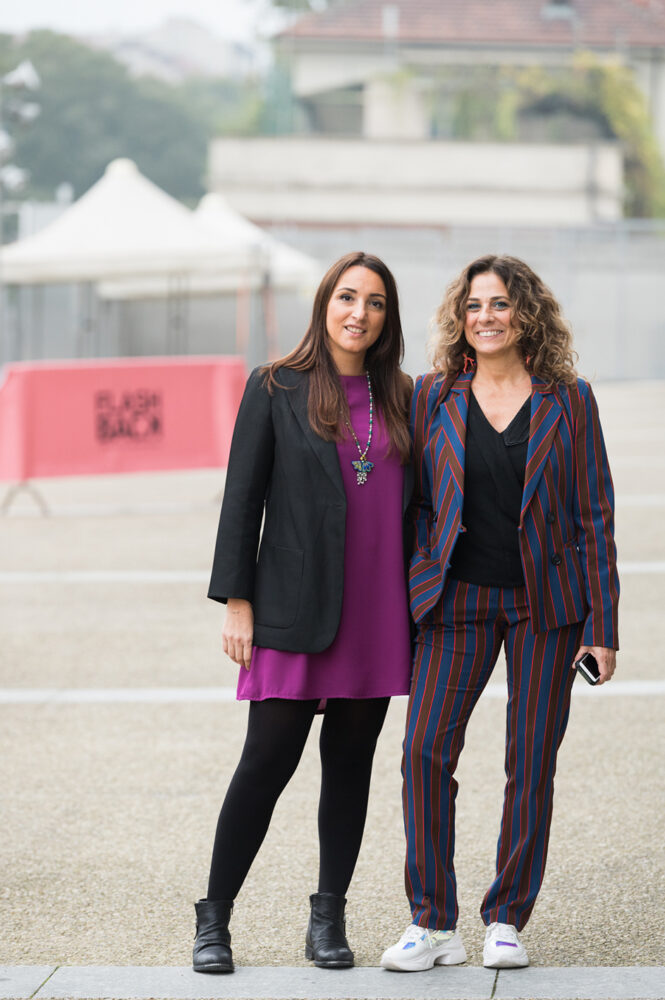 Le direttrici di FLASHBACK_Stefania Poddighe e Ginevra Pucci_foto di Giuliano Berti